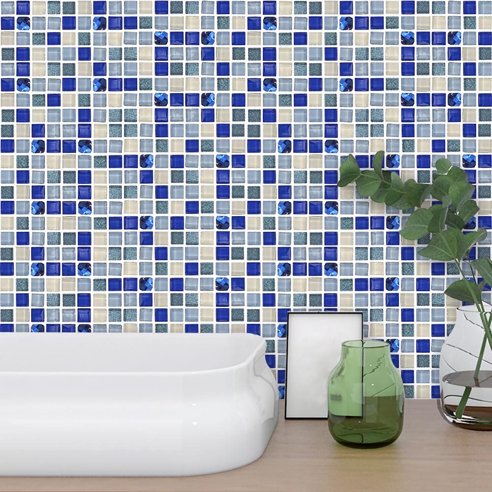 Kitchen Tile Stickers Bathroom Mosaic Sticker Selfadhesive ...