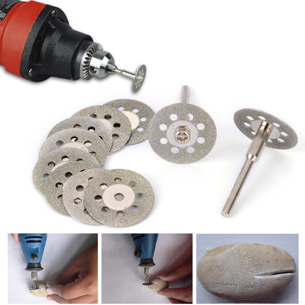 10*pcs Diamond Cut Off Wheel Cutting Disc Fits Rotary Craftsman Rotary Tool Set