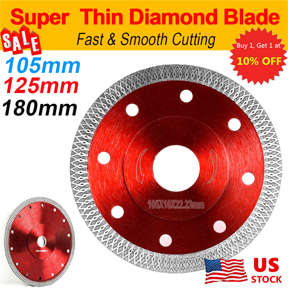 3 in 1 Super Thin Diamond Ceramic Saw Blade Porcelain Tile Marble Stone Cutting