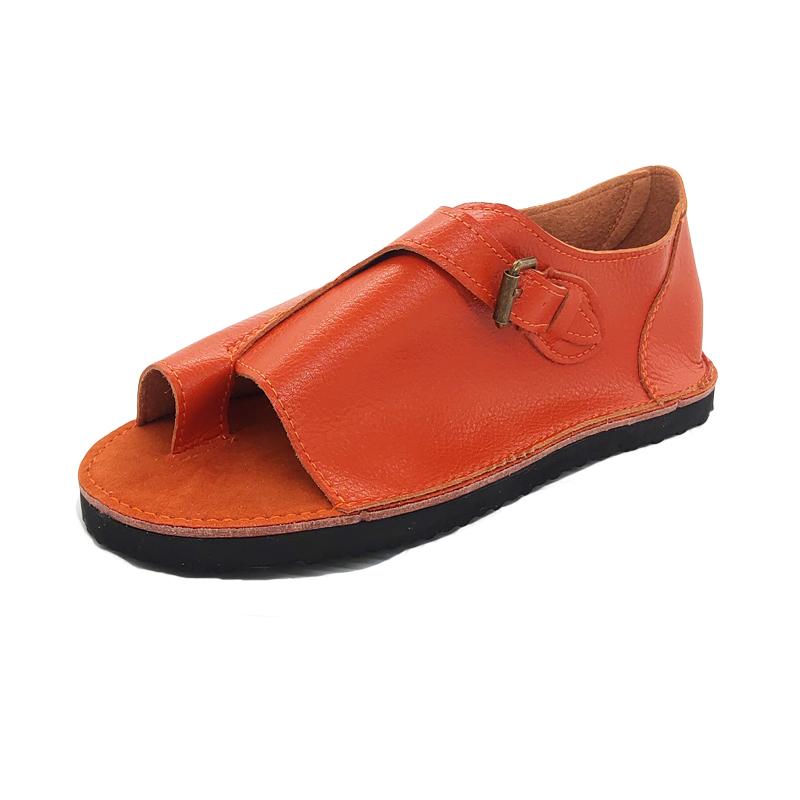Womens Buckle Comfy Sandals Ladies Summer Flip Flops